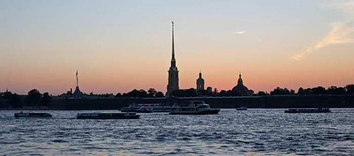 Ночной Санкт-Петербург