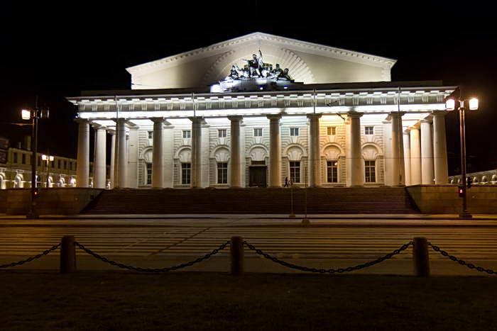 Санкт-Петербург ночью