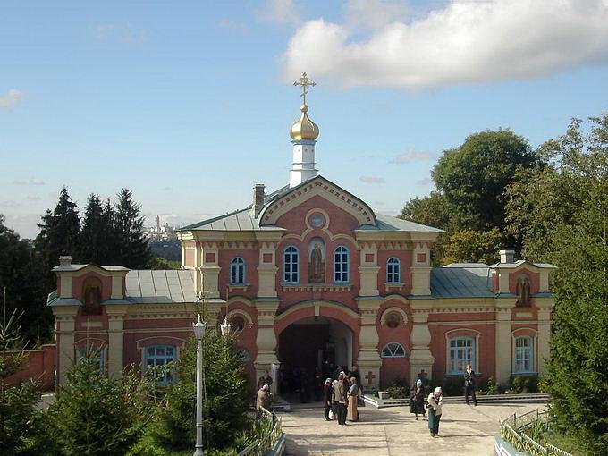 Брамная церковь св.Онуфрия