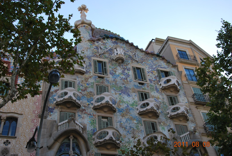 Дом архитектора Гауди