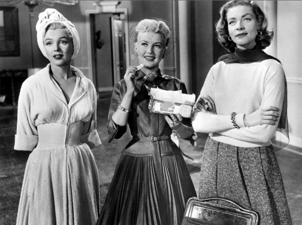 Marilyn-Monroe-Betty-Grable-and-Lauren-Bacall-in-How-To-Marry-A-Millionaire-1953