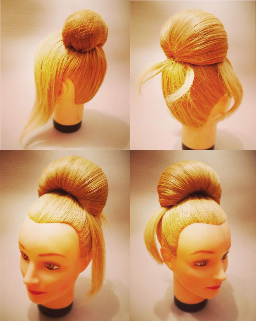 Как сделать причёску бабетта