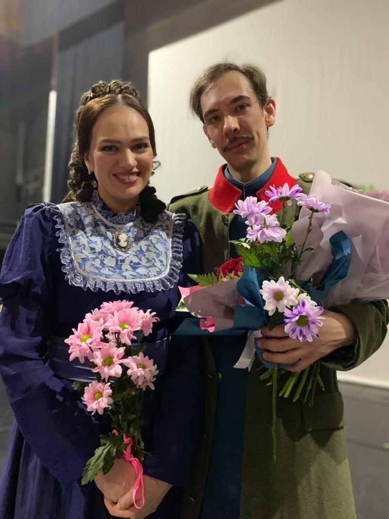 Дарья Батова и Игорь Макаров. Фото Галины Макаровой.