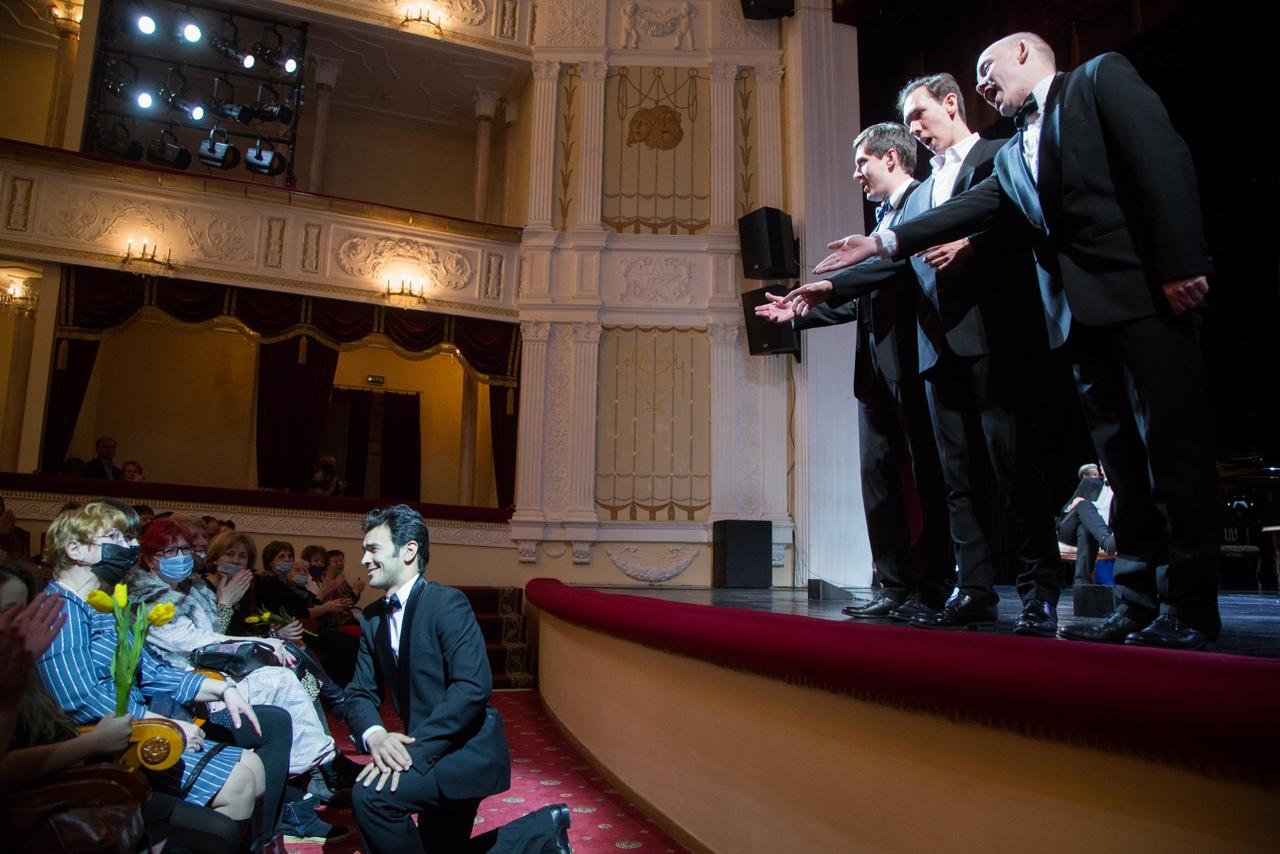 Каюм Шодияров, Вадим Мокин, Игорь Макаров, Павел Назаров. Фото Виталия Голубева