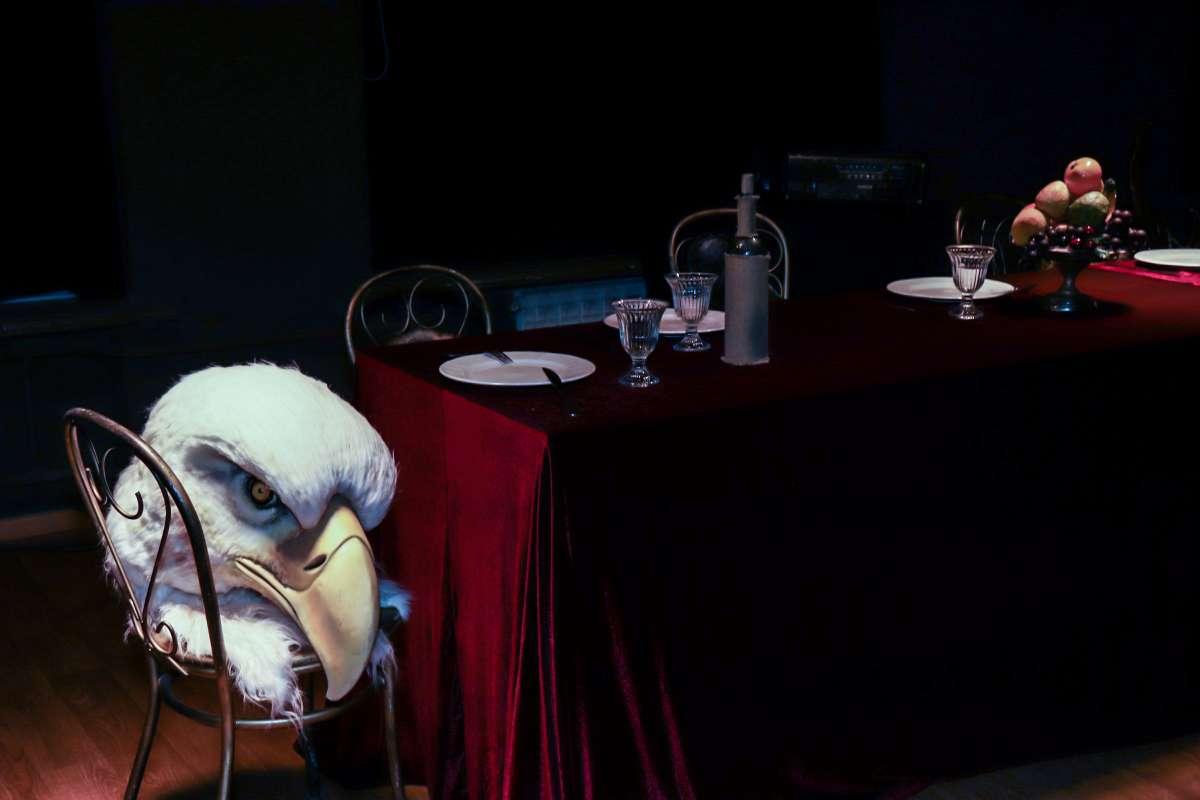 """Реквизит к сцене из оперы """"Волшебная флейта"""". Фото Юлии Утышевой (vk.com/yulia_ut)"""