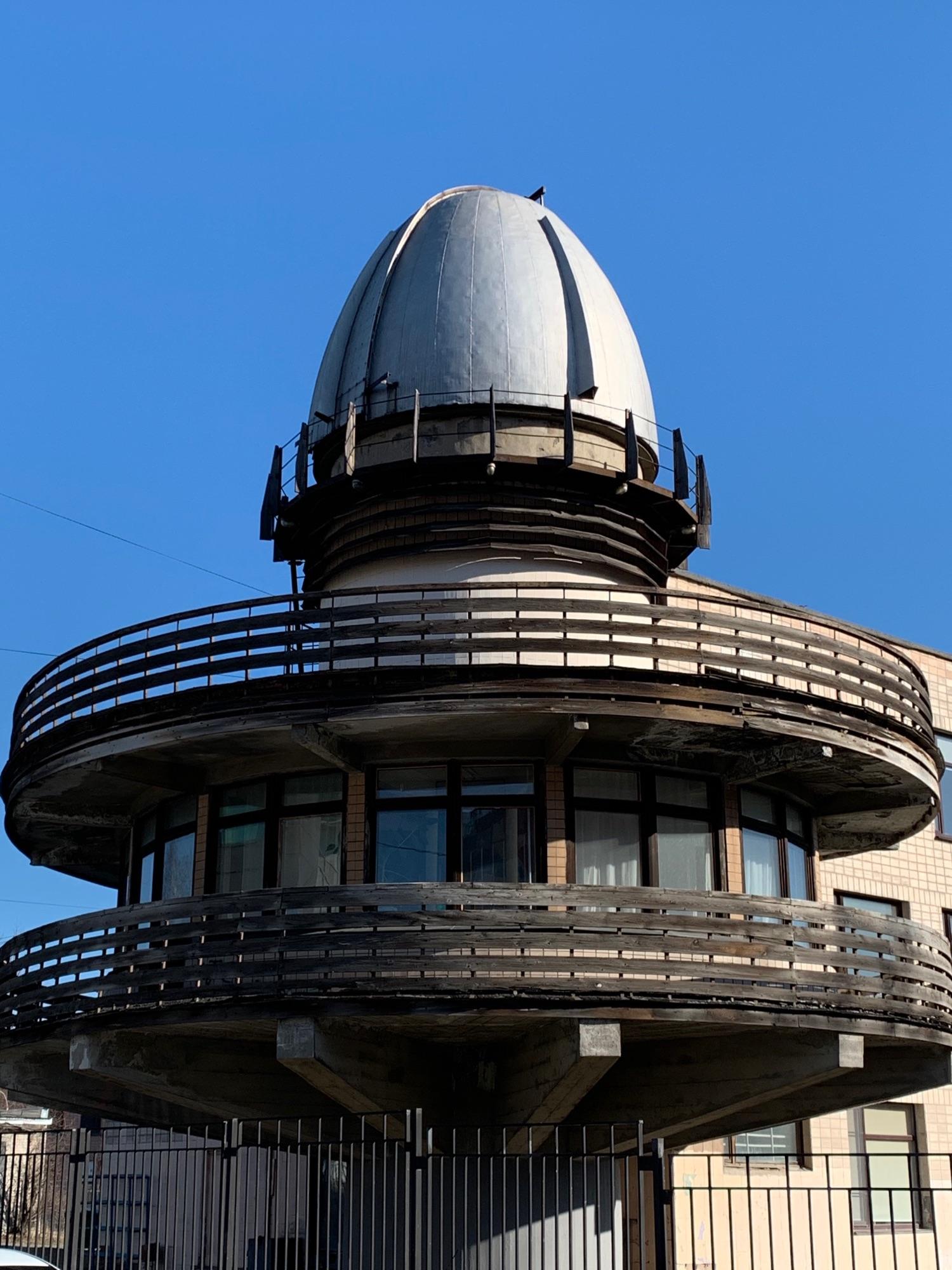 Обсерватория во Дворце творчества