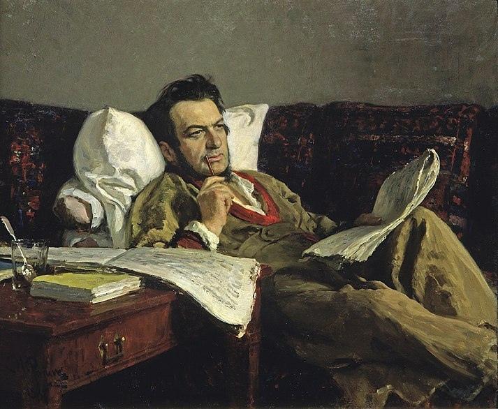 Илья РЕПИН — М. И. Глинка в период сочинения оперы «Руслан и Людмила» (1887)