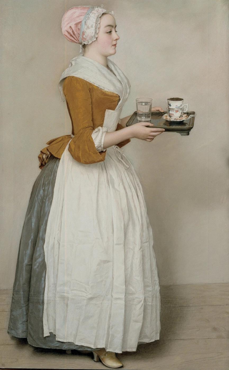 Жан-Этьен ЛИОТАР — Прекрасная шоколадница (1745)