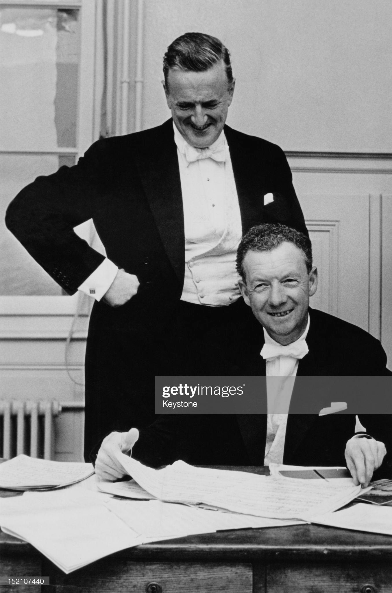 Питер Пирс и Бенджамин Бриттен. 1962 год © Photo by Keystone/Hulton Archive/Getty Images