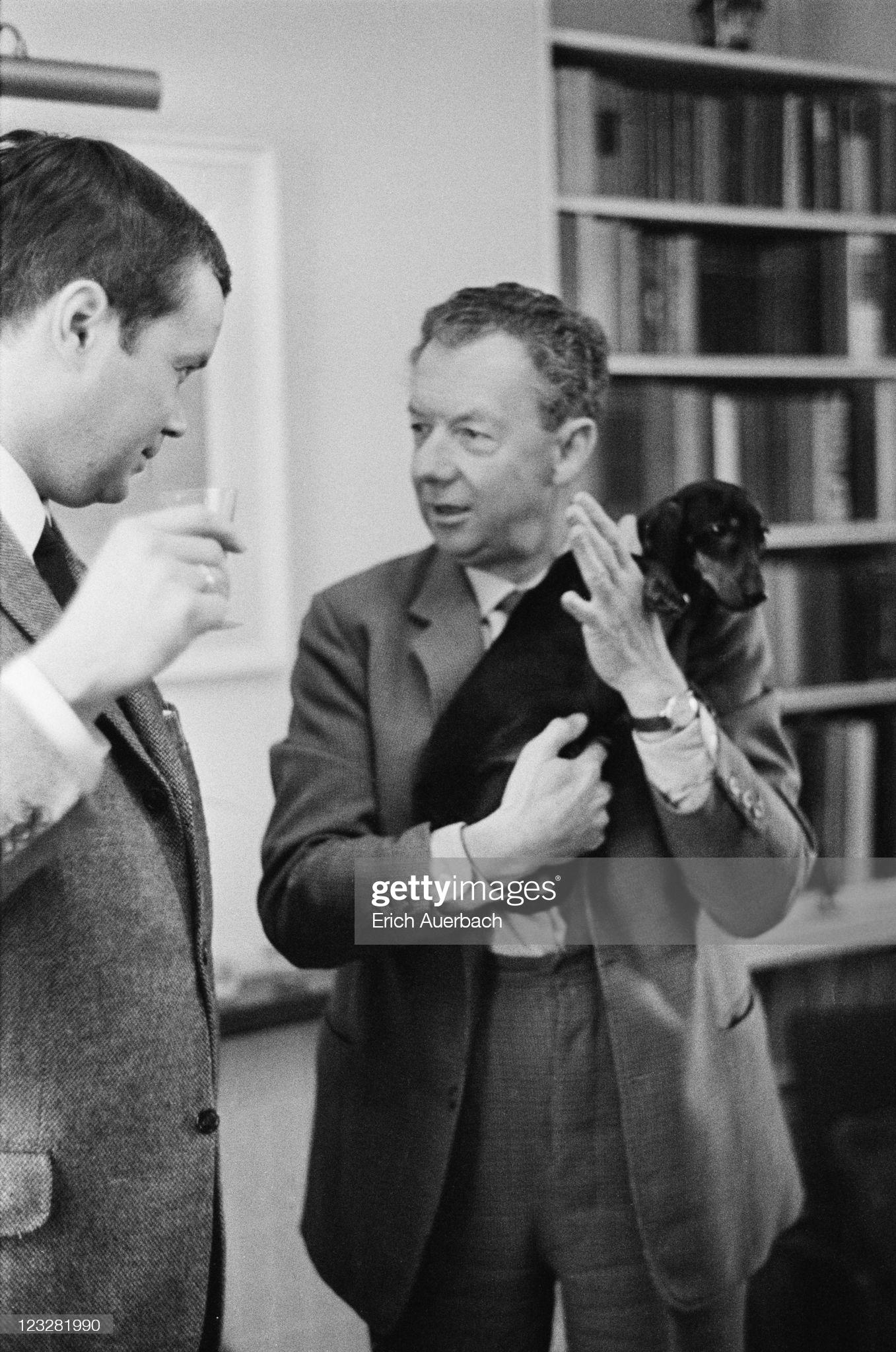 Дитрих Фишер-Дискау и Бенджамин Бриттен. 1965 год © Photo by Erich Auerbach/Hulton Archive/Getty Images