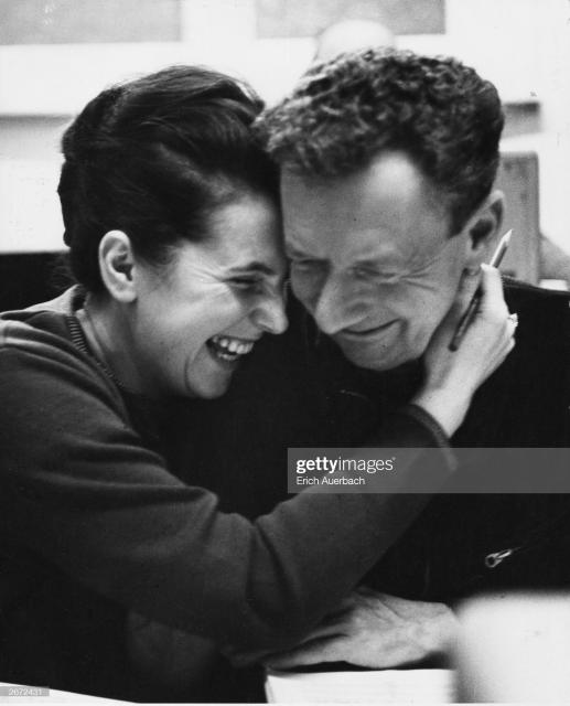 Галина Вишневская и Бенджамин Бриттен. 1963 год © Photo by Erich Auerbach/Getty Images)