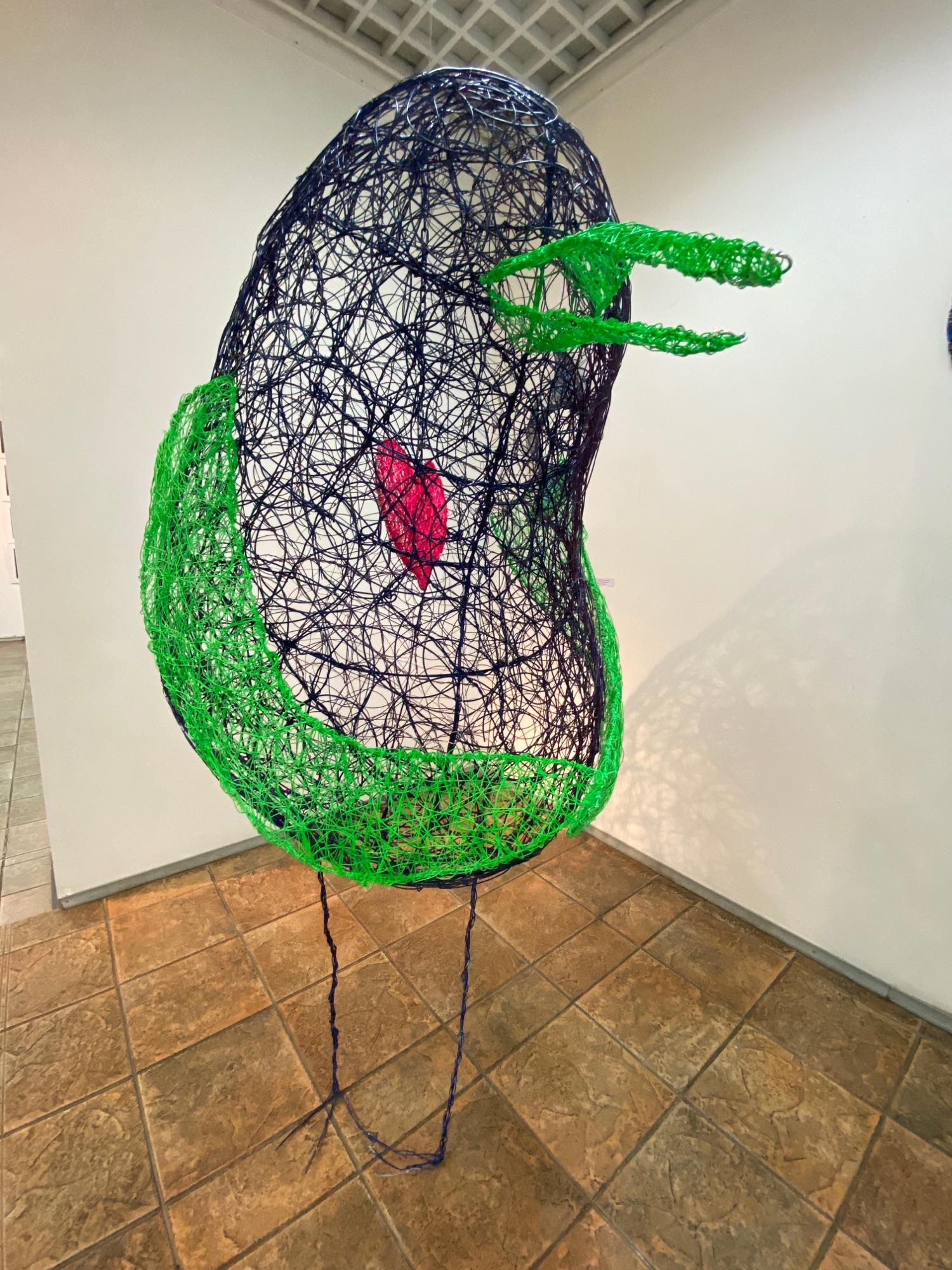 Мария Ошукова «Птица с сердцем», 2021