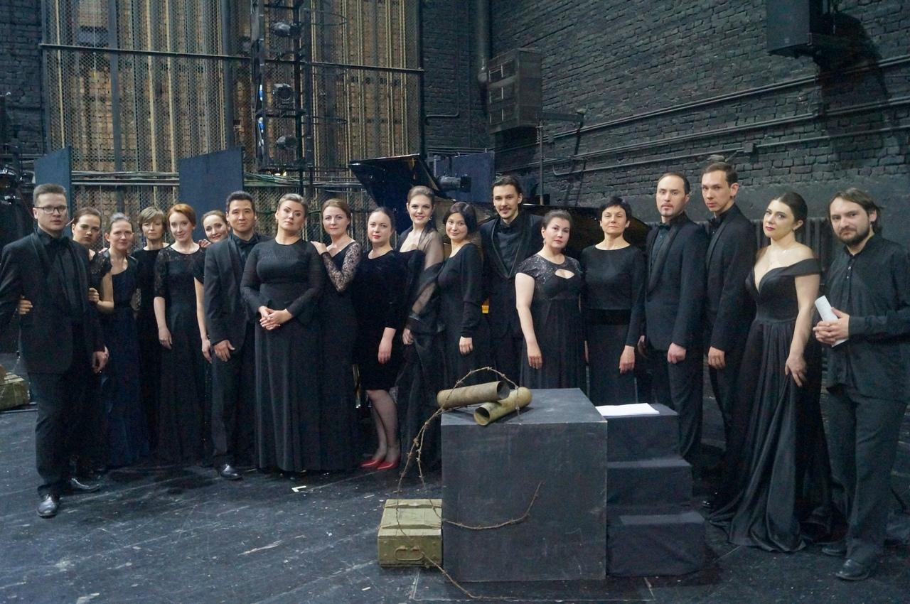 Участники концерта. Фото Анатолия Ланцмана