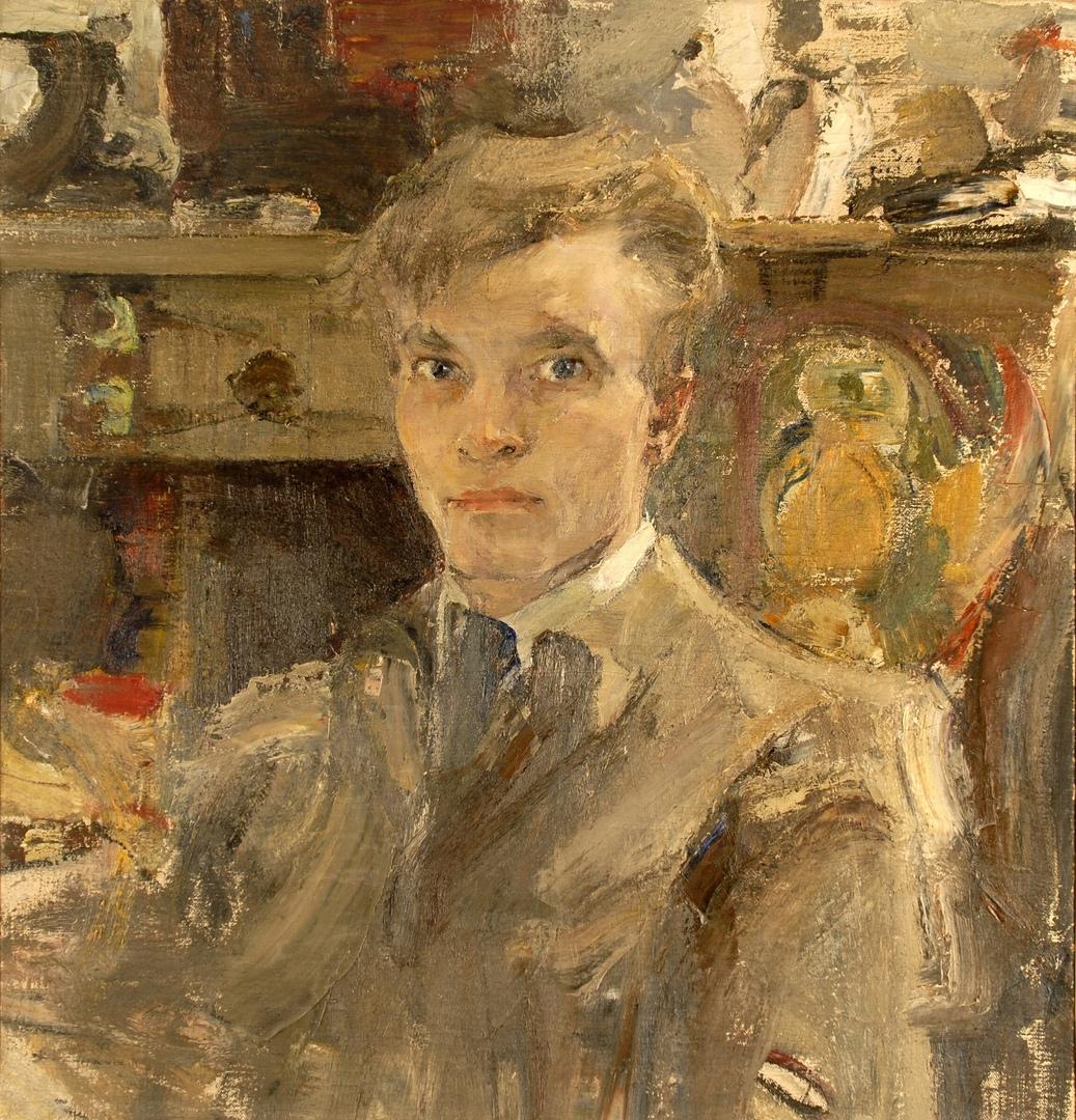 Н. Фешин. Автопортрет. 1920. ©️ ГМИИ РТ