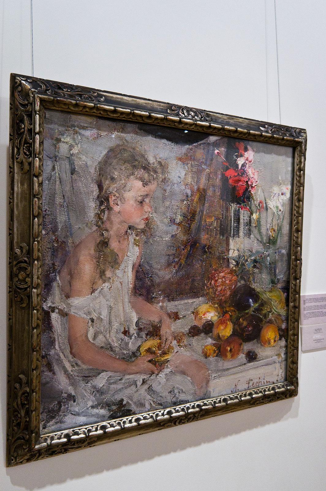 Николай Фешин. Ия с дыней. 1923. Фото: ©Елена Сунгатова, art16.ru