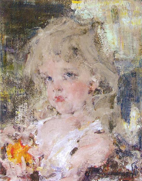 Николай Фешин. Портрет Ии, 1910-е