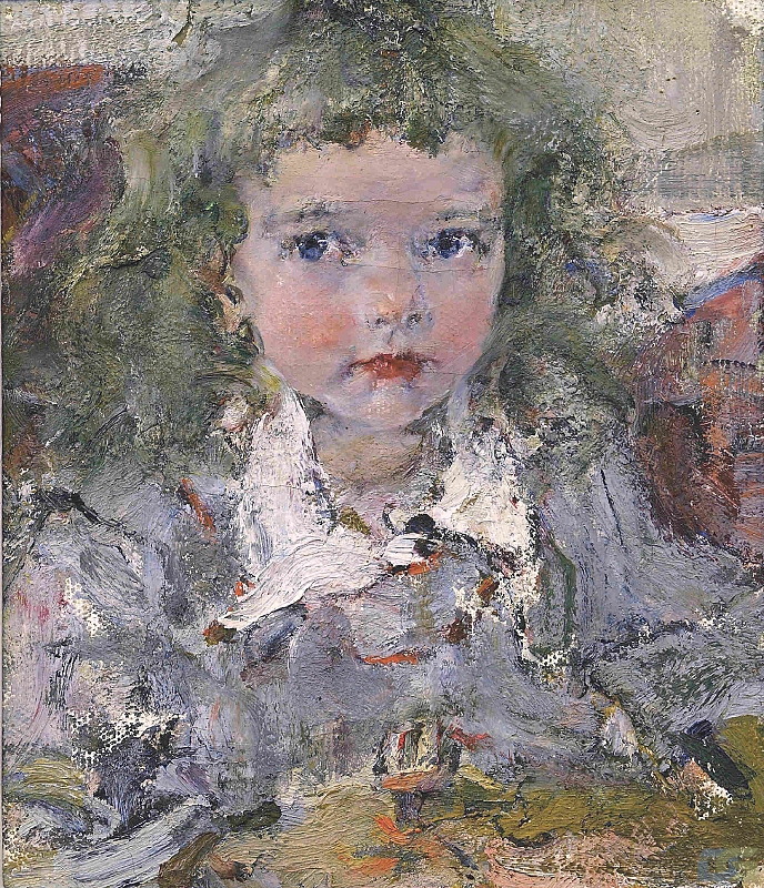 Николай Фешин. Портрет Ии. 1919. ©️ Козьмодемьянский музейный комплекс