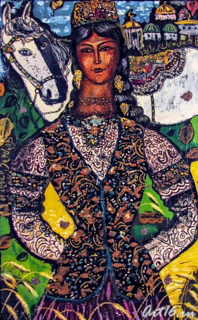 Ильдар Зарипов «Сююмбике», из собрания ГМИИ РТ, фото: art16.ru