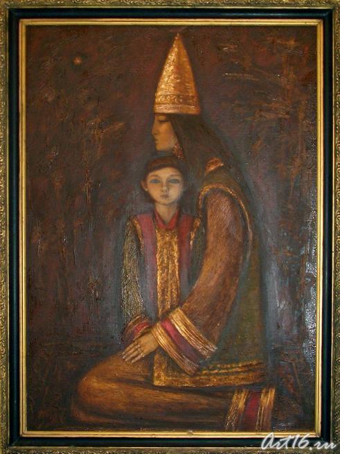 Василь Ханнанов «Сююмбике», 1994, фото: art16.ru
