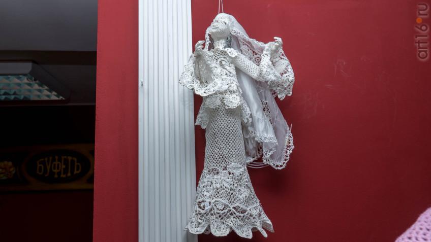 Лиана Алимбек-Тагирова Кукла «Сююмбике» (вязание крючком), фото: art16.ru