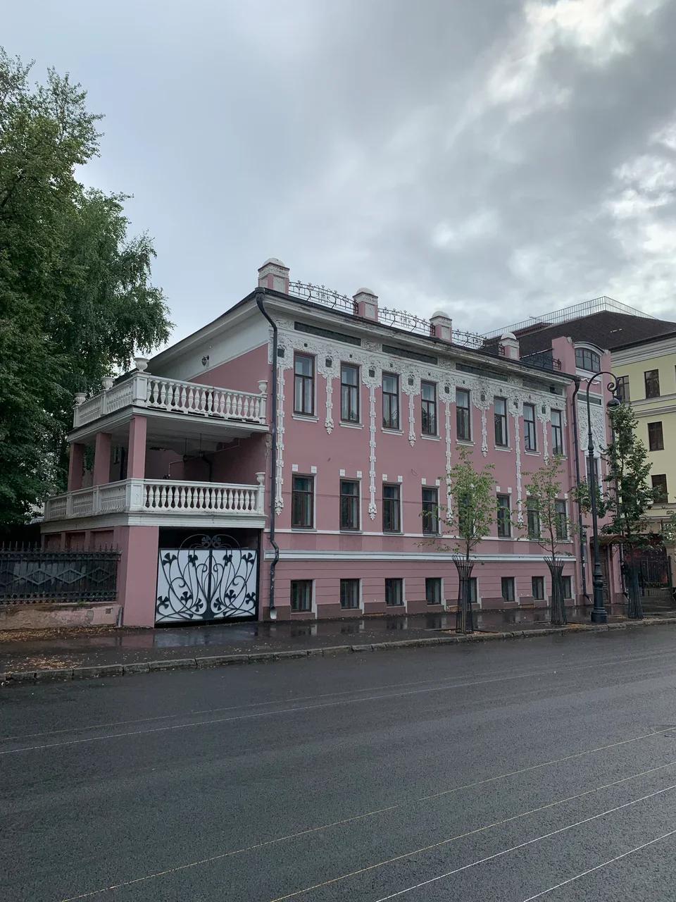 Дом Токарева на Большрй Красной