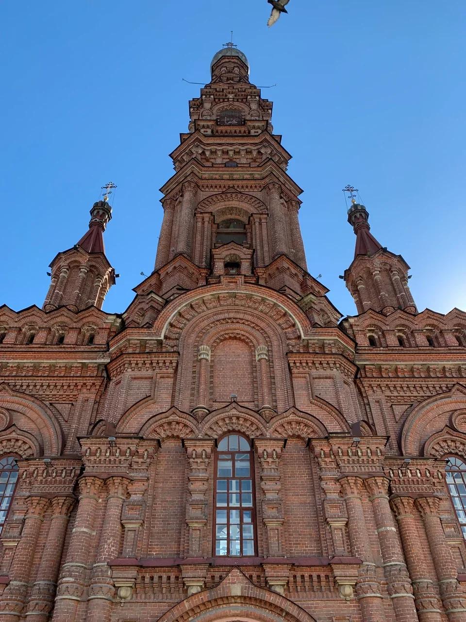 Богоявленская колокольня на Баумана