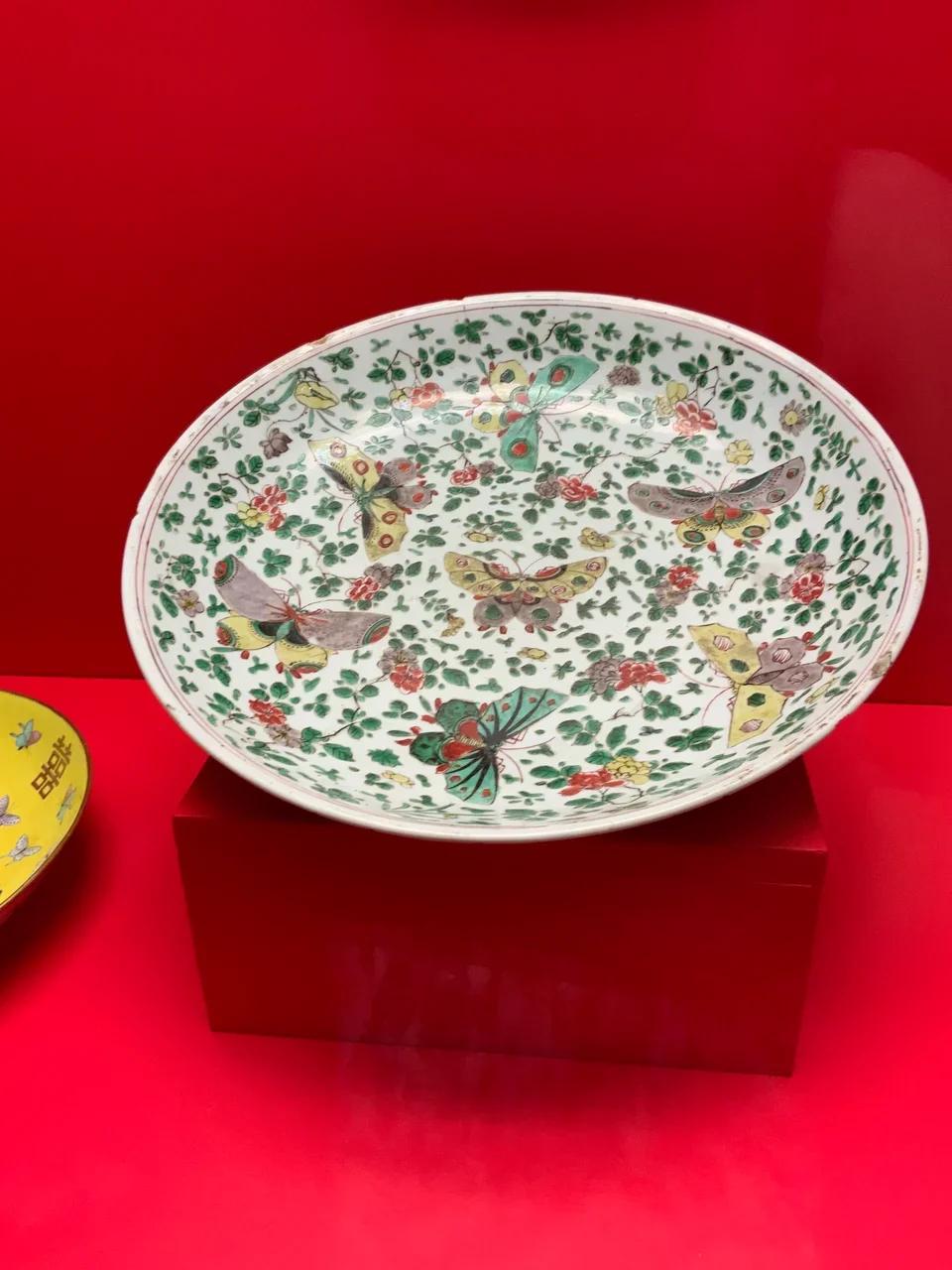 Блюдо. Китай, между 1662 и 1722 гг.