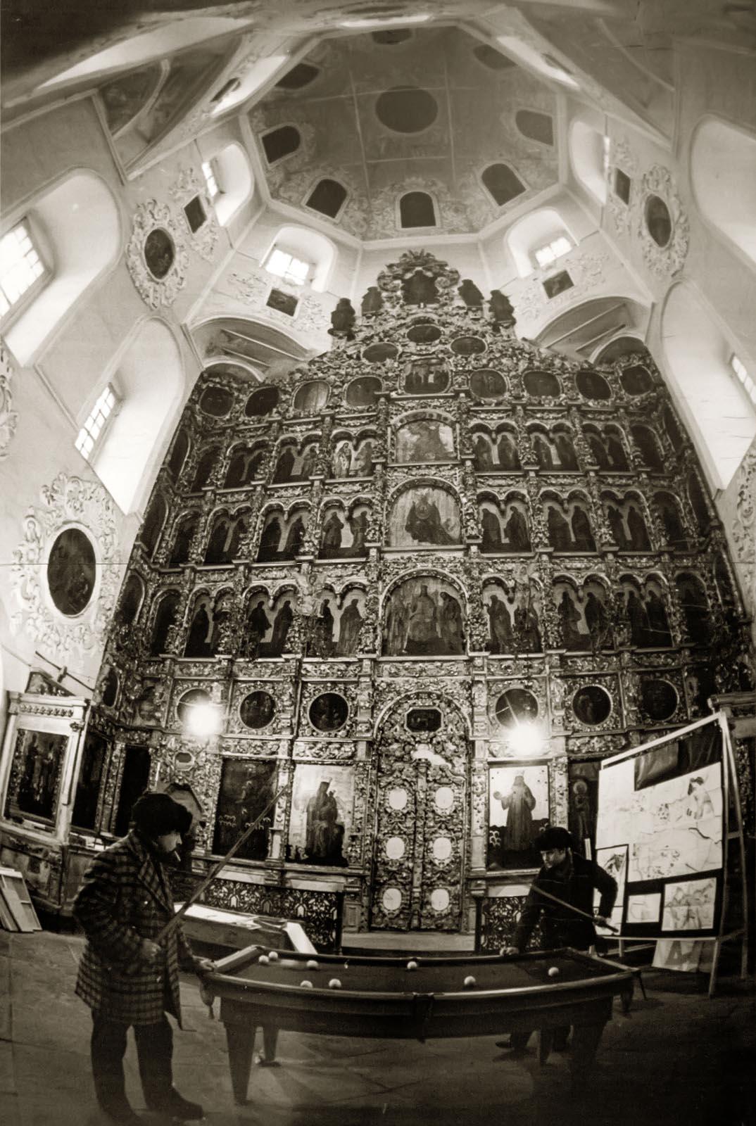Петропавловский собор, 1983 год. Фото: Владимир Зотов