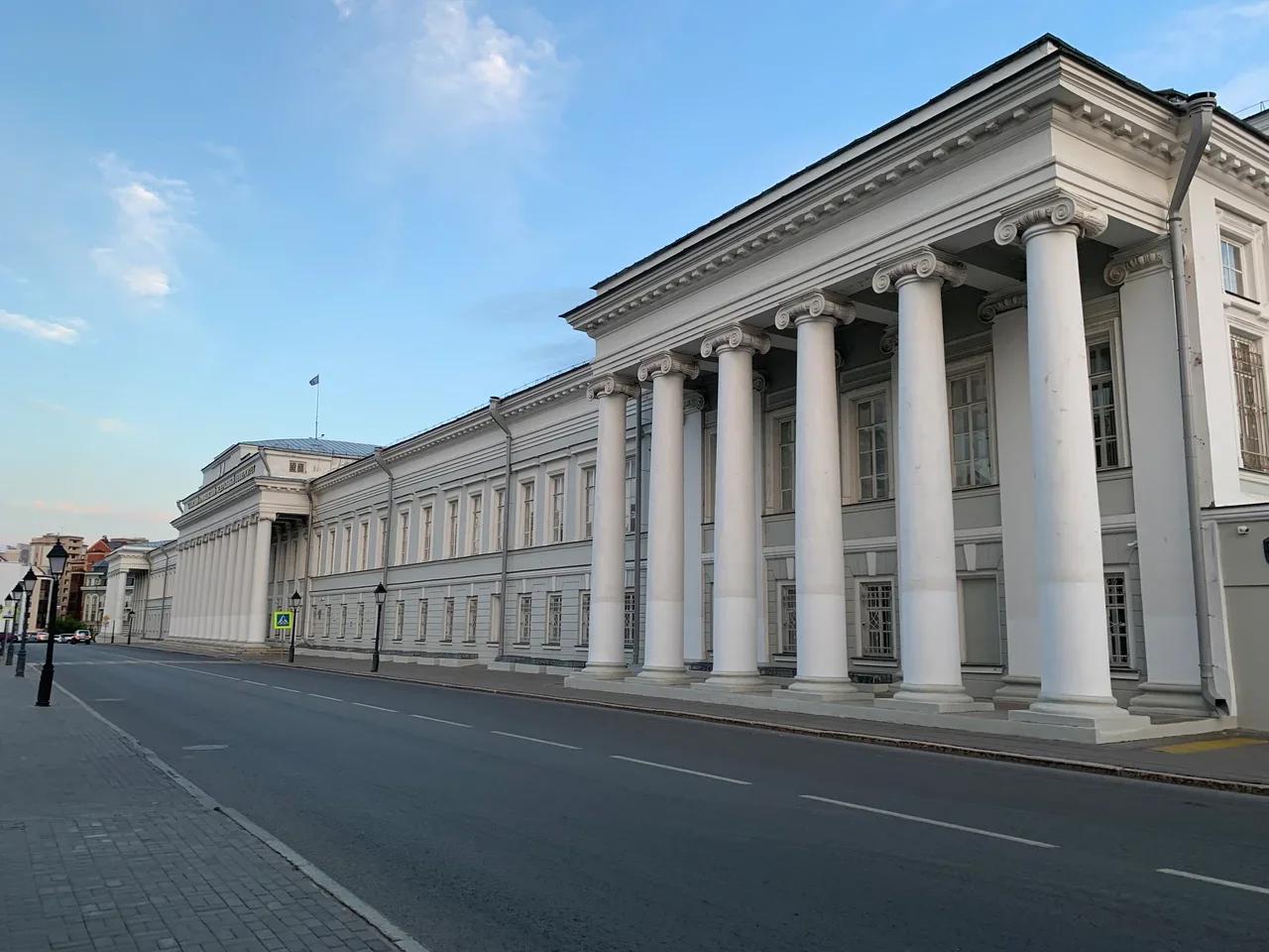 Главный корпус Казанского университета (когда-то КГУ, ныне КФУ)