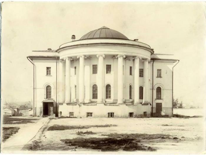 Анатомический театр Императорского Казанского университета 1896