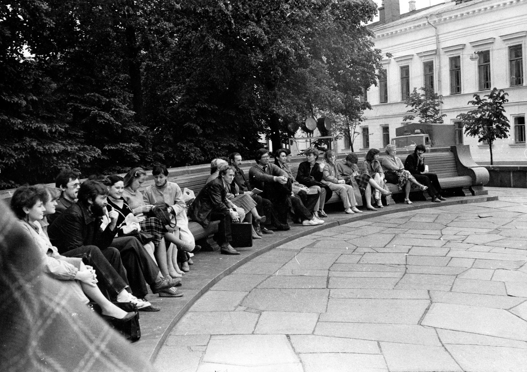 1983 год. Фото: Kazan Nostalgique