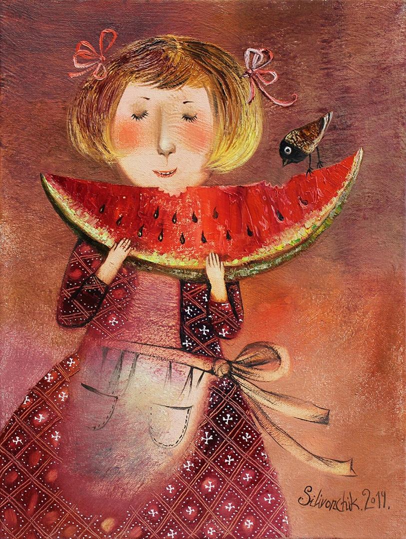 """Анна Силивончик """"Ягода арбуз II"""" (2014)"""