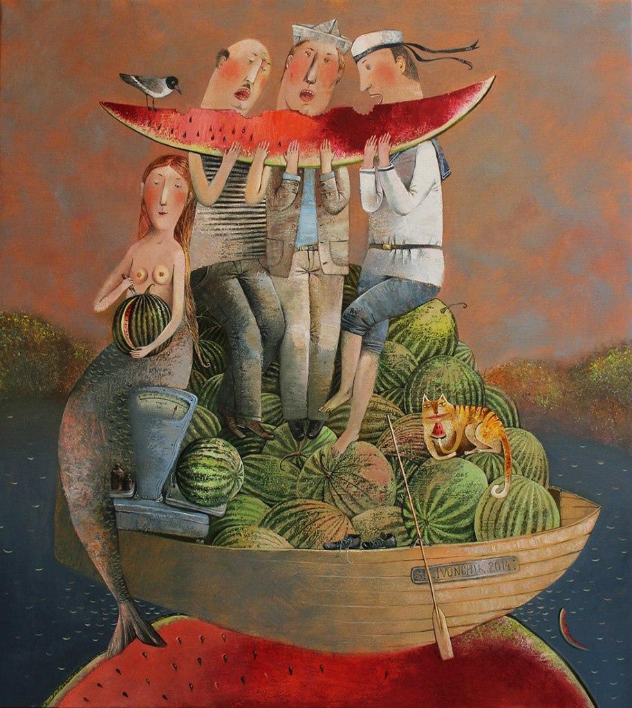 """Анна Силивончик """"Ягода арбуз"""" (2014)"""