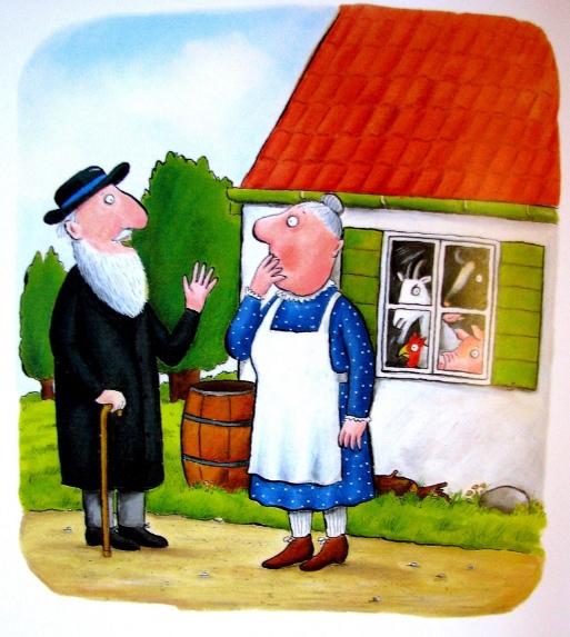 «Если в домике тесно» Джулии Дональдсон, иллюстрации Акселя Шеффлера