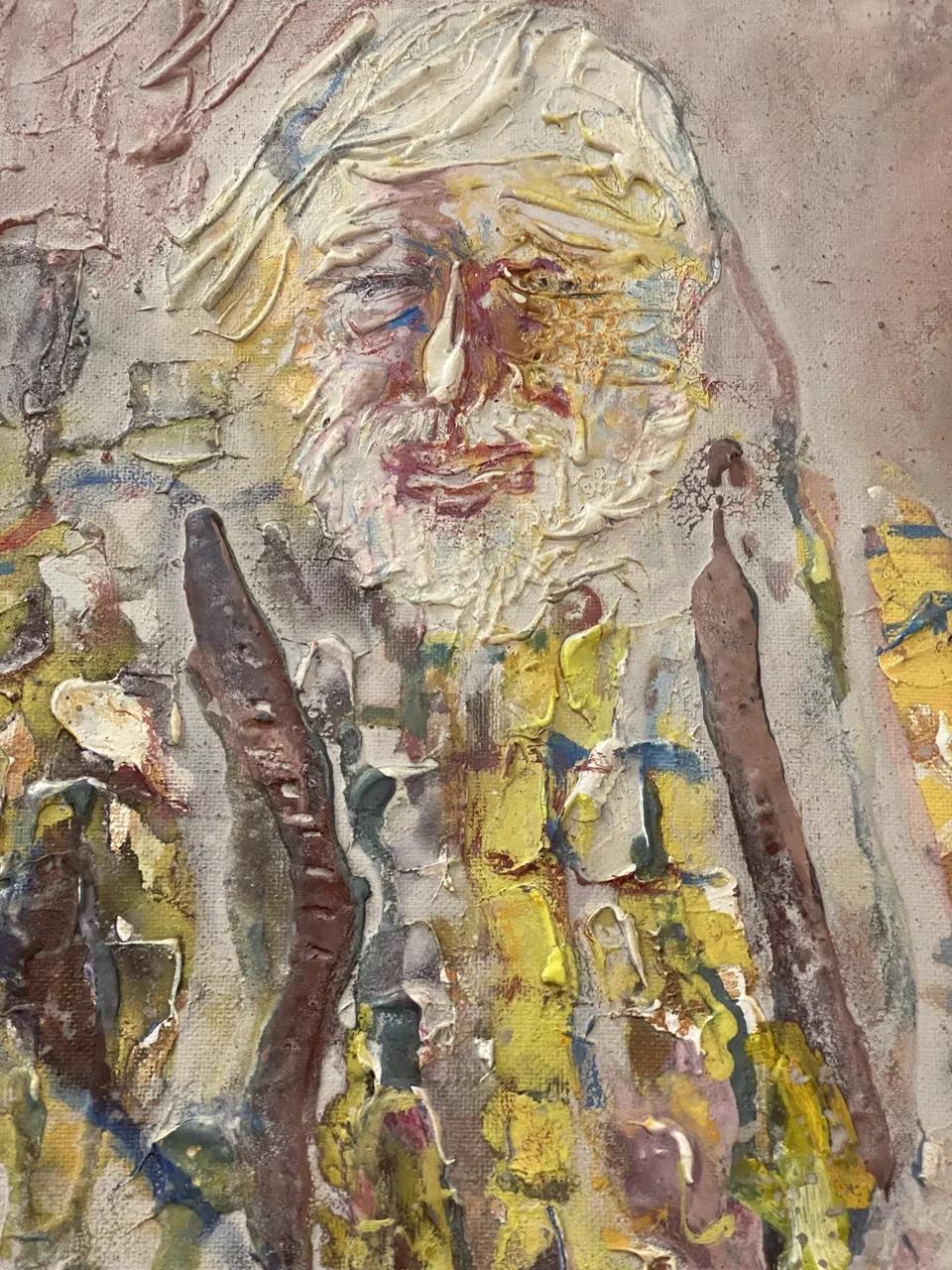 Валерий Лукка «Портрет художника Михаила Юфа» (1995)