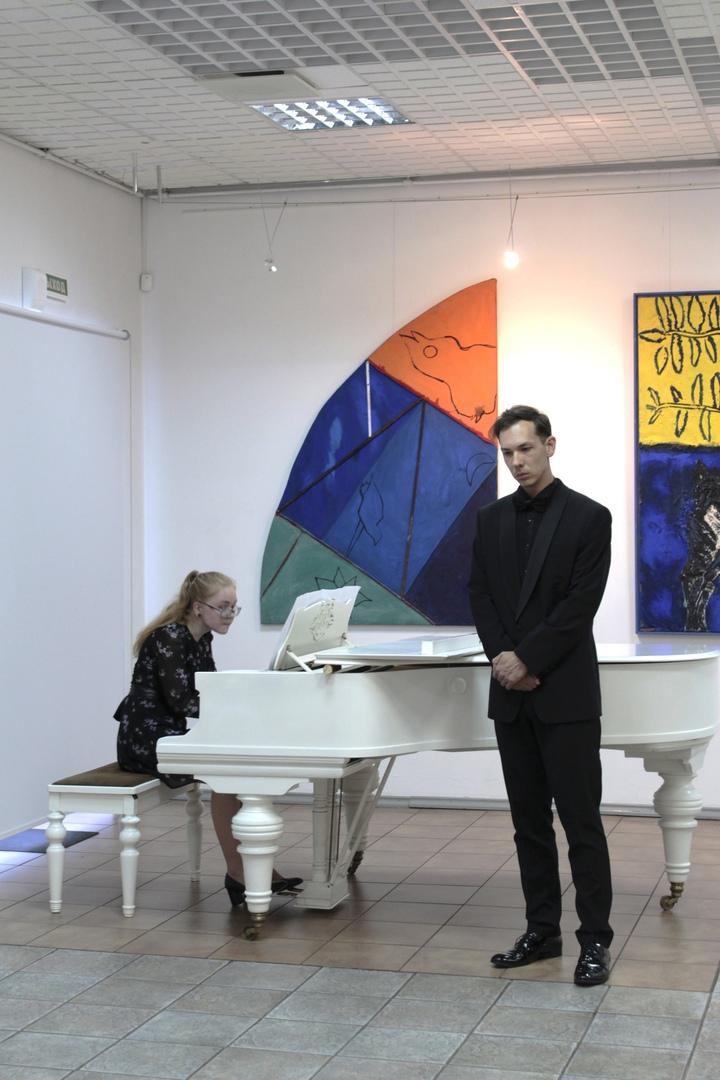 Открытие выставки Валерия Лукки и Феликса Волосенкова. Фото: vk.com/lukka_volosenkov_ptz