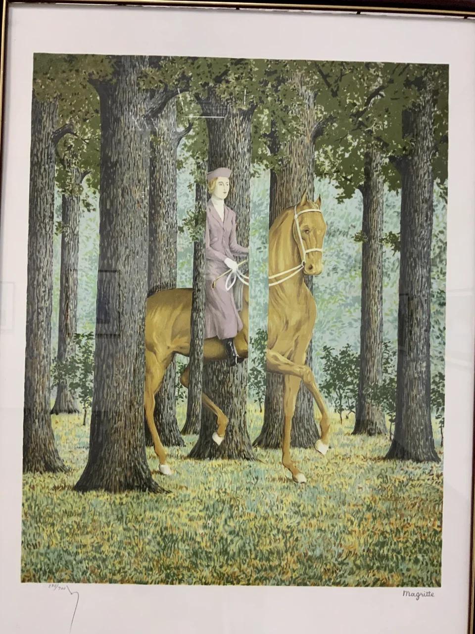 Рене Магритт «Карт-бланш» (1965)