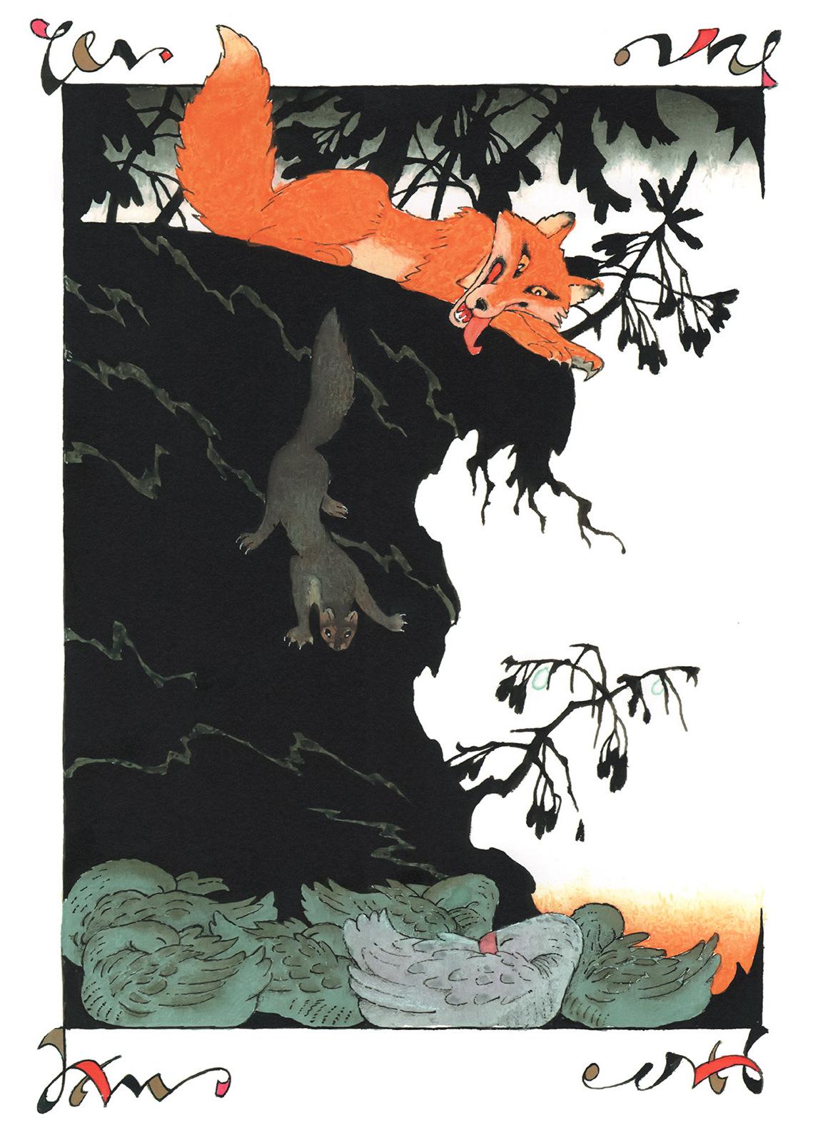Из книги С. Лагерлёф «Чудесное путешествие Нильса с дикими гусями» , 1978