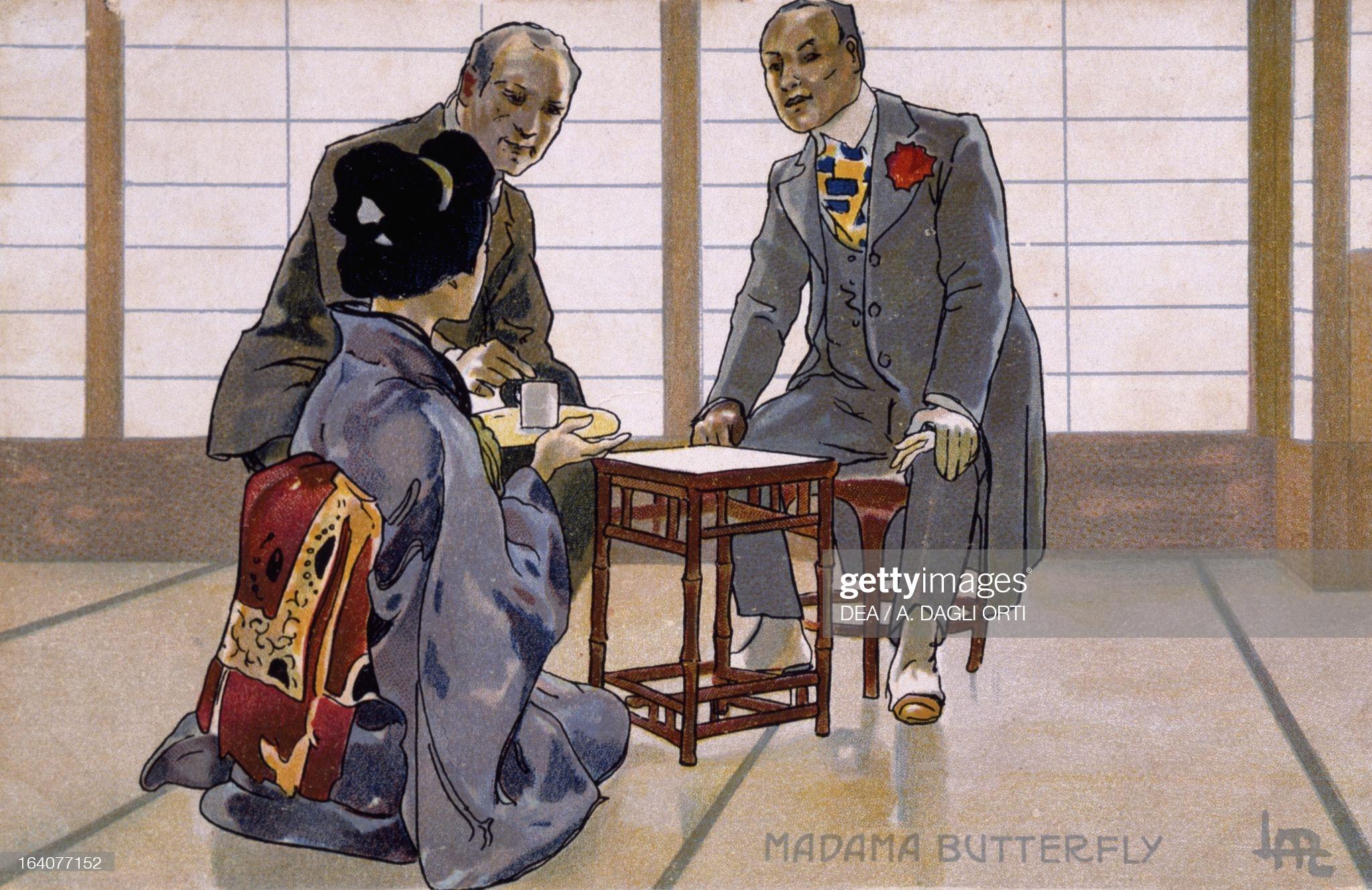 Чио-Чио-сан, Горо и Ямадори