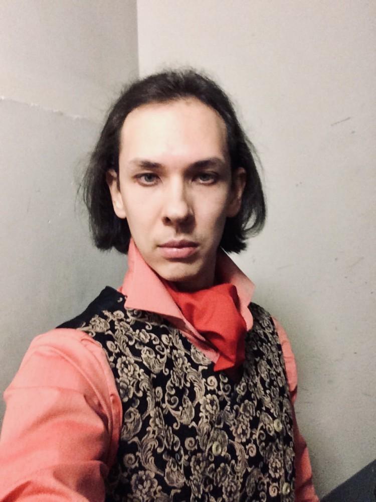 Вчера на генеральной репетиции вышел в таком костюме