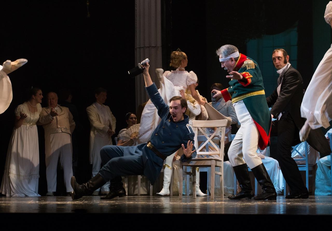 Сцена из оперы «Карельский пленник», фото Виталия Голубева