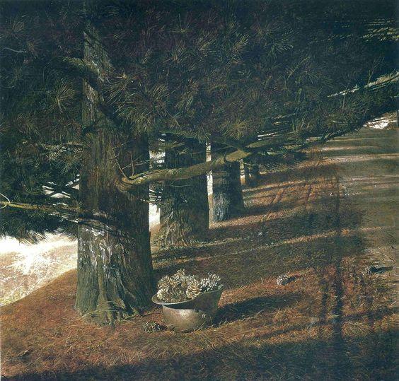 Andrew Wyeth Pine Barron