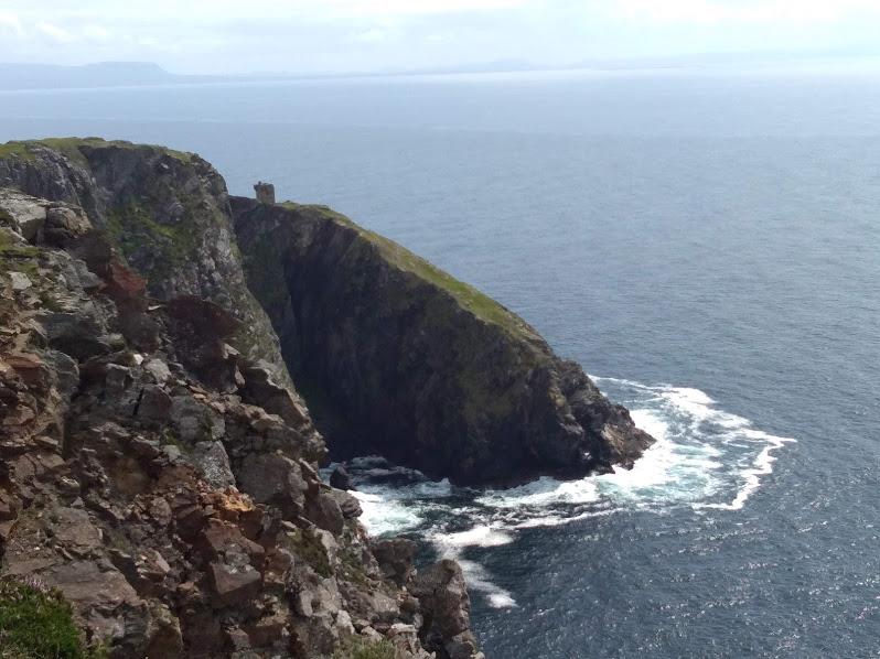 Скалы Донегол, вид сверху.