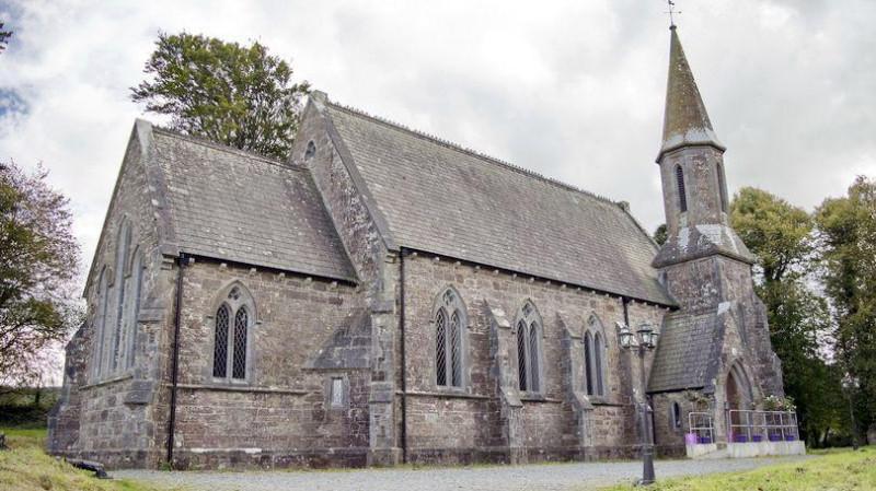 Старая церковь в Килфине (фото из Интернета).
