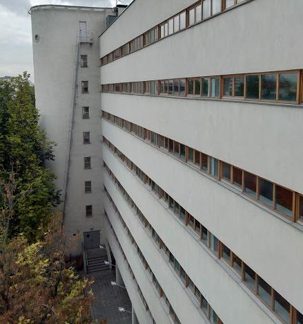 Дом-Коммуна, жилой корпус