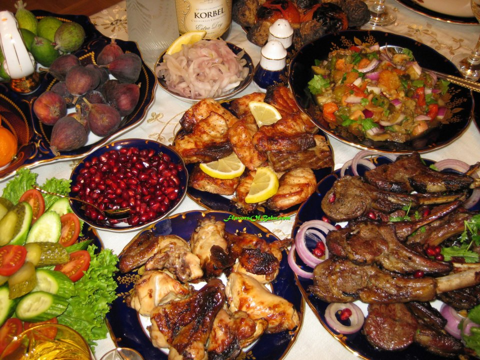 Кухня азербайджана рецепты с фото