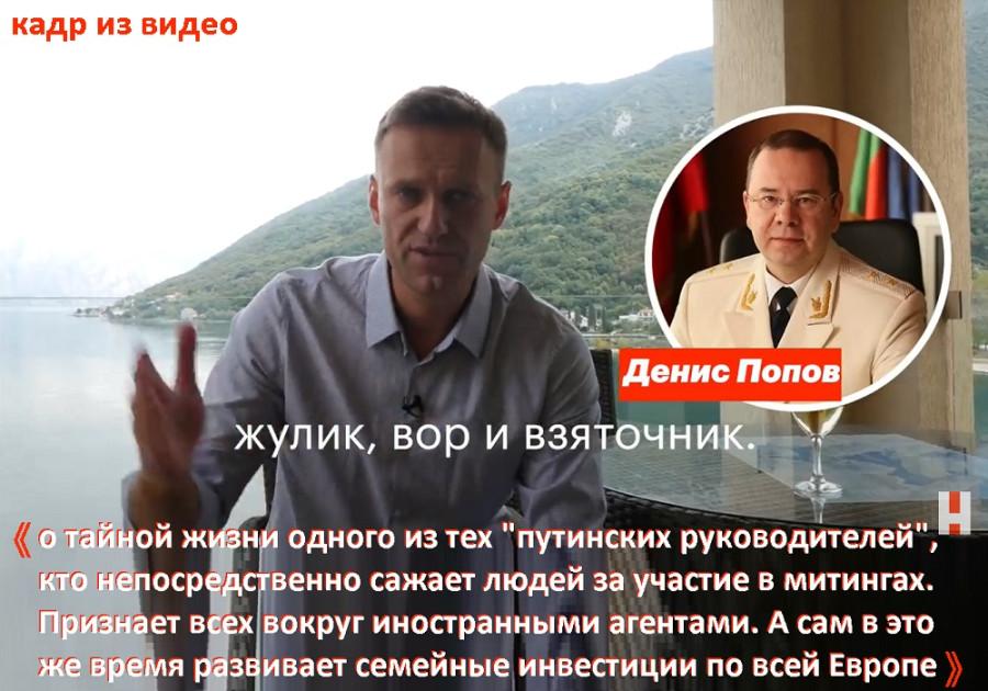 Навальный vs Попов