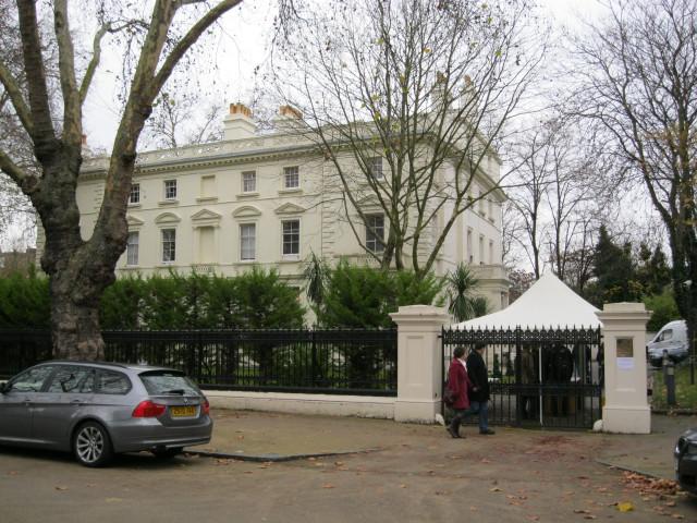 Лондон, здание российского посольства