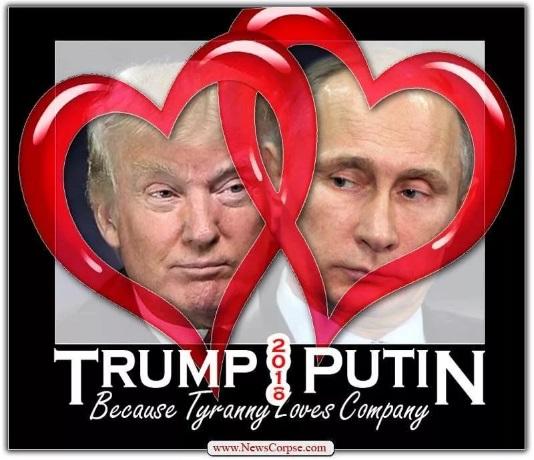 Трамп_Путин_любовь