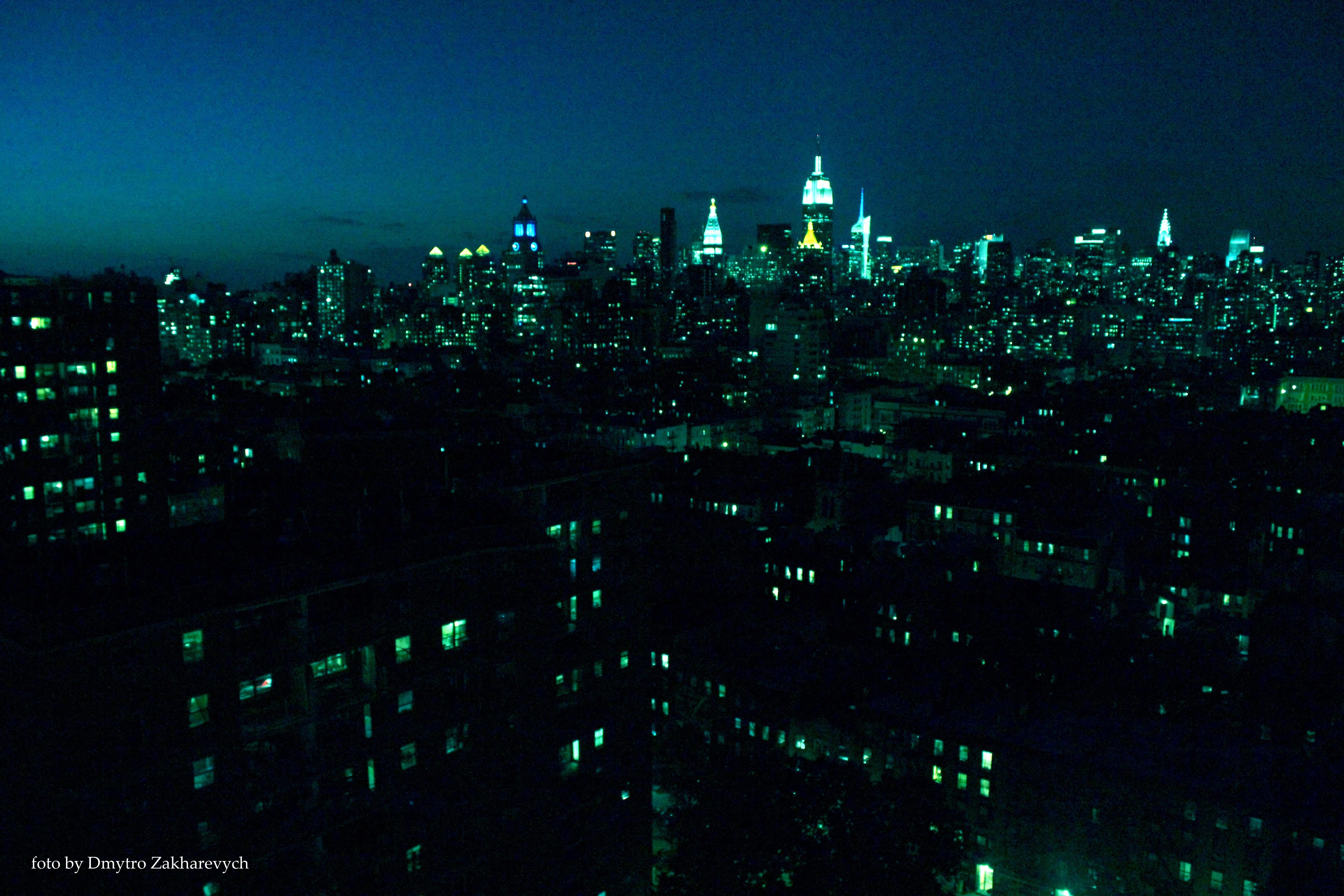 вечірній Нью Йорк